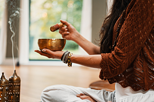 Top 7 strains for meditating while high